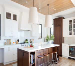 Custom-Built Kitchen Island